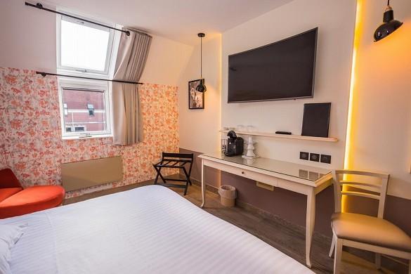 Hotel le cèdre - habitación calvin