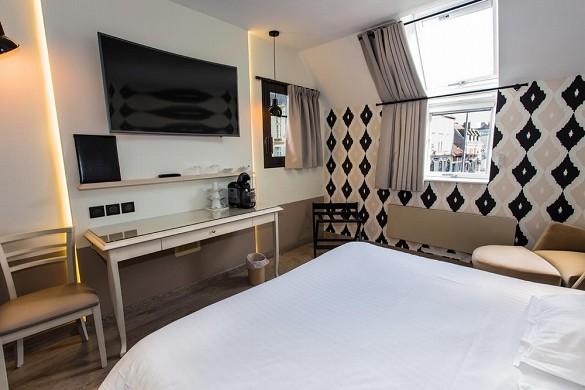 Hotel le cèdre - habitación charlemagne