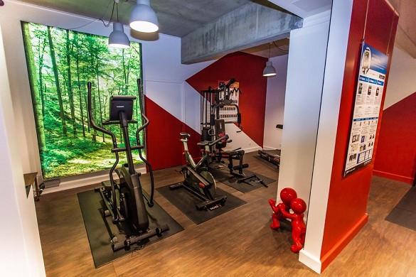Hôtel le cèdre - gym