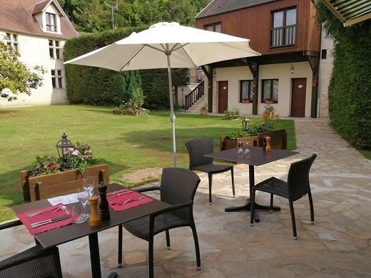 Daniels Gasthaus - Terrasse