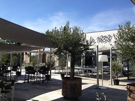 Das 18 38 Restaurant - AUSSENTERRASSE