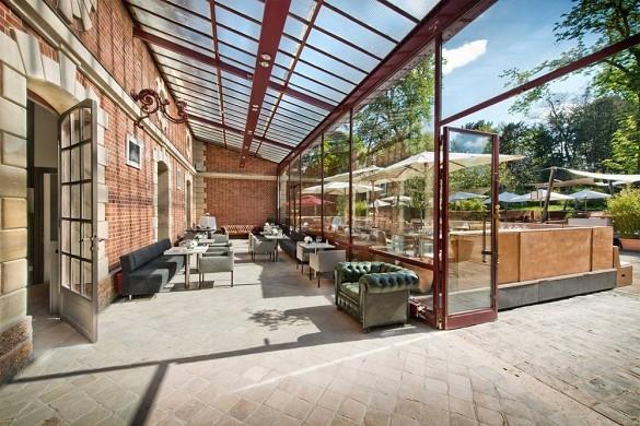 Jardines de Bagatelle - veranda