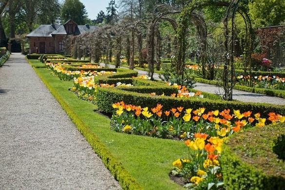 Los jardines de bagatela - jardín
