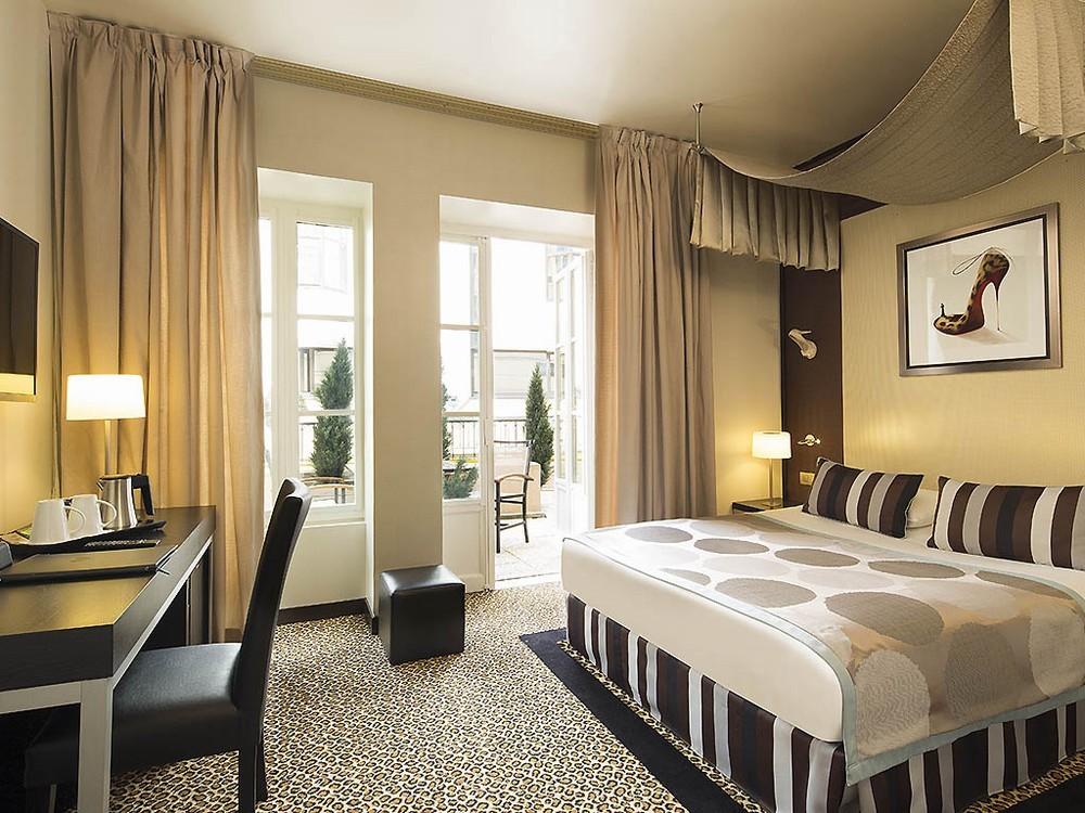 Hôtel m paris - chambre semi séminaire résidentiel