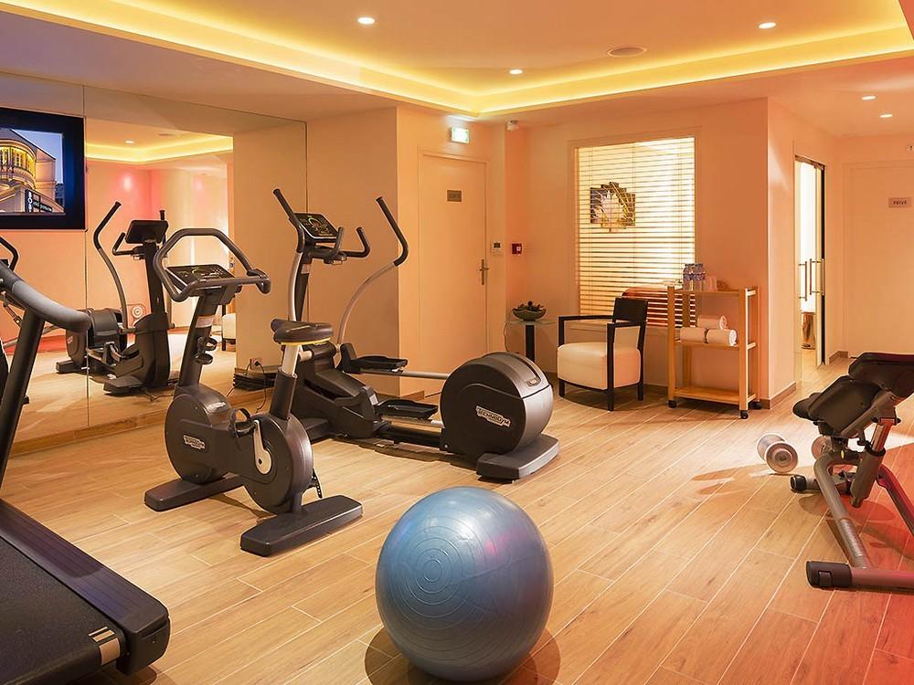 Hôtel m paris - salle fitness