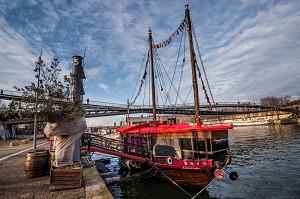 La Dame de Canton - El barco