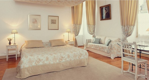 Château de lassalle - camera da letto