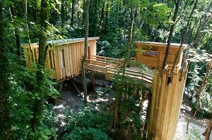 La Cabane de Lyon - Sainte Foy - Ort der Team-Building grün