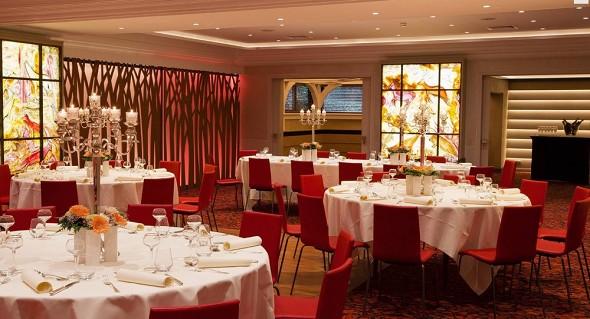 El hotel park obernai - restaurante
