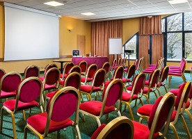 Hotel Restaurant Le Paddock - sala de reunião