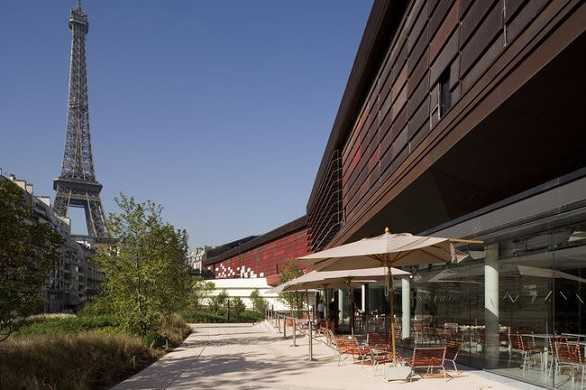 Museo Quai Branly - terrazza panoramica