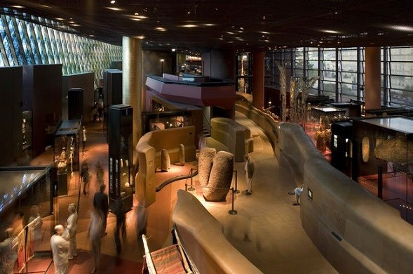 Museo Quai Branly - spazio espositivo