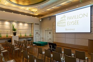 Padiglione dell'Eliseo - L'Instant Té - Sala conferenze