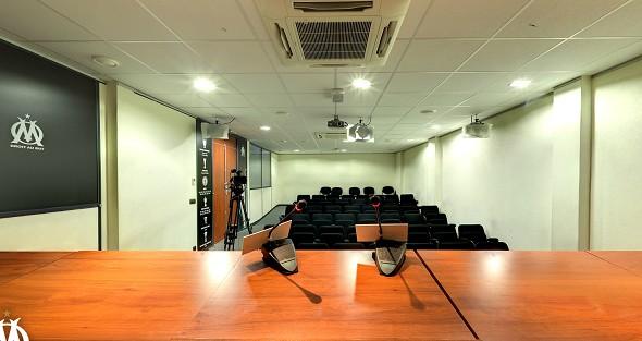 Robert louis-dreyfus training center - press room