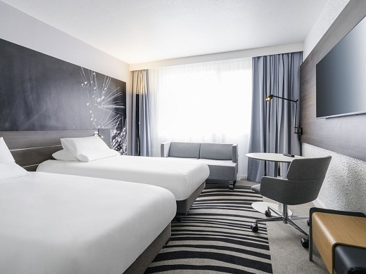 Novotel saclay - double room