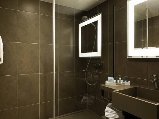 Novotel saclay - bathroom