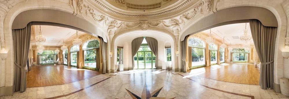 Padiglione Dauphine saint clair - salone panoramico dauphine