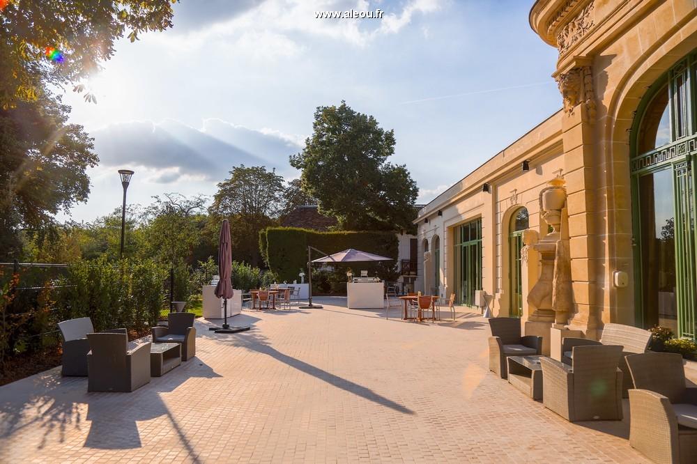 Pavillon Dauphine Saint Clair - terrazza lounge passy-maïté