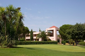 Golf Hotel - Montpellier Massane - Shooting seminario verde