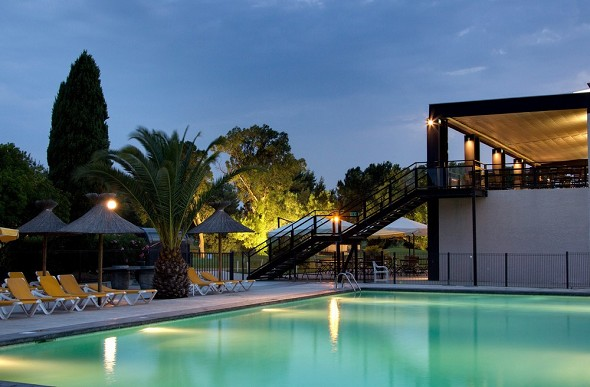 Hotel golf montpellier massane - piscina