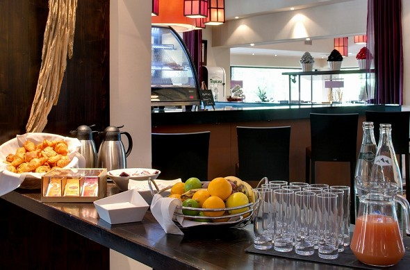 Golf hotel montpellier massane - breakfast