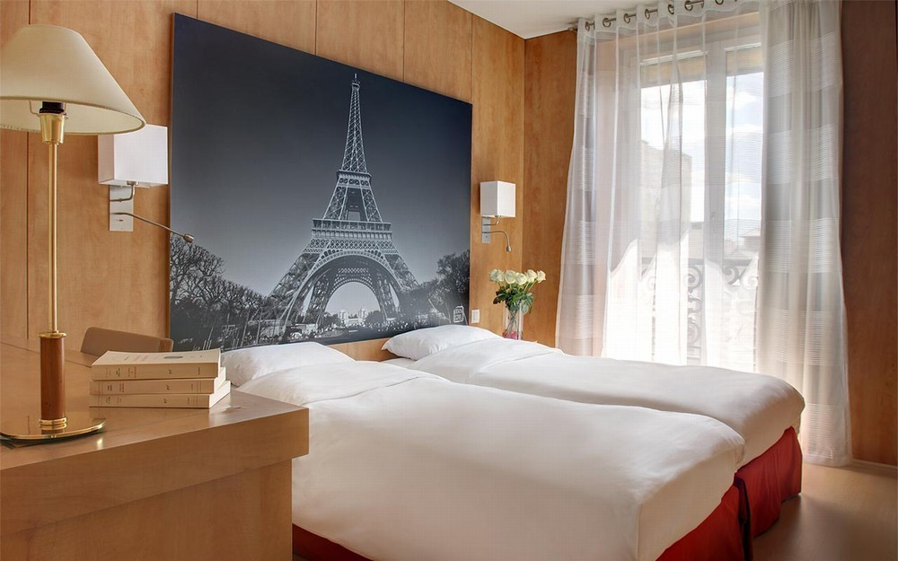 Best western ronceray opéra - chambre standard twin