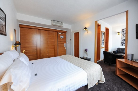 The Grand Hotel in Strasbourg - suite