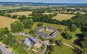 The Manoirs de Tourgéville - Drone View
