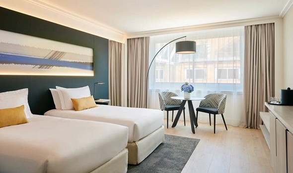 Marriott lyon internationale Stadt - Zweibettzimmer