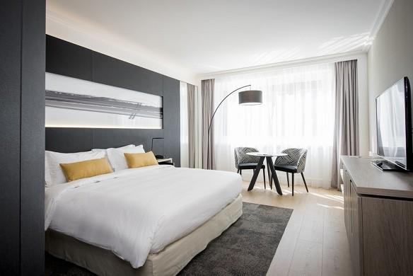 Marriott lyon International City - Deluxe Room