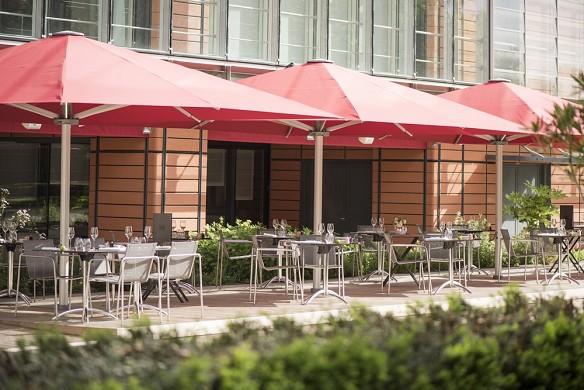 Marriott lyon international city - zucca restaurant - Terrace