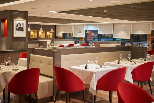 Marriott lyon international city - restaurant zucca
