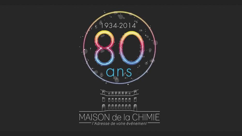 Casa della chimica - 80e anniversario