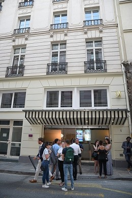 Emergence paris Opera Business Center - exterior