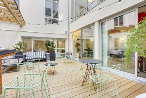 Business center emergence paris opéra - patio