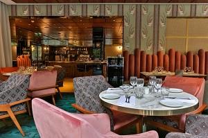 Sala ristorante di design