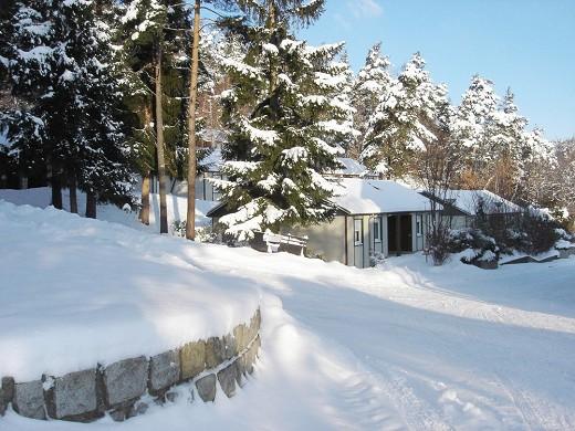 Azureva murol - winter exterior