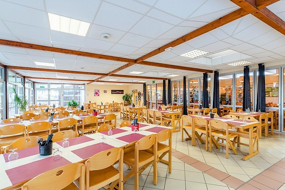Azureva lacanau - restaurant