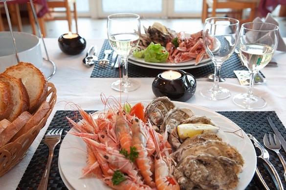 Azureva trégunc - Restaurant