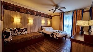 Cheyenne hotel room