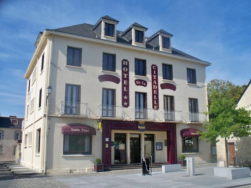 Hotel da cidadela - fachada