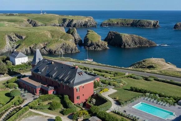 El mar abierto de belle-ile-en-mer - hotel seminario