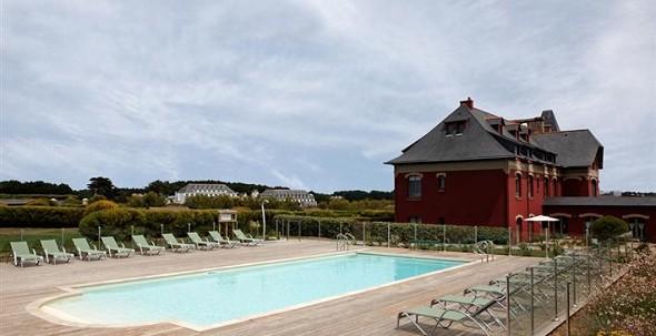 El mar abierto de belle-ile-en-mer - piscina