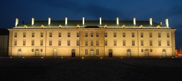 Centre national du Kostüm Szene de Fassade Mühlen