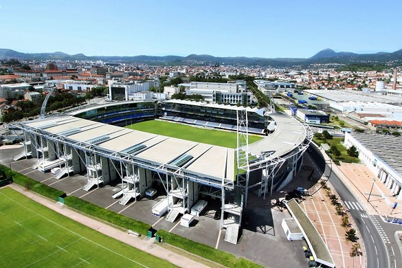 Stade marcel michelin - stade séminaire clermont-ferrand