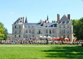 Castle Thugny - outside the castle