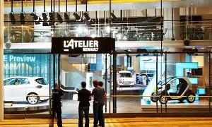 L'Atelier Renault - Lugar atípica en París