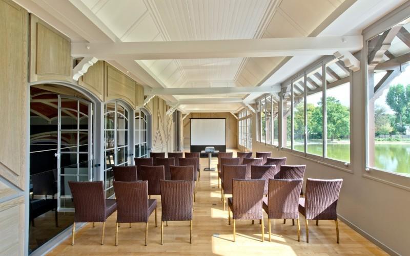 Wooded lounge - Le Pavillon des Etangs