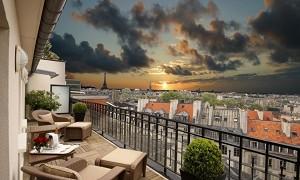 Hotel Pont Royal - Terraza