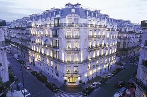 Hotel La Tremoille - Frontage